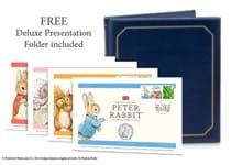 Your complete Beatrix Potter Coin Cover set features all 15 50p coins released by The Royal Mint featuring Beatrix Potter's characters, including the 2020 Peter Rabbit 50p.