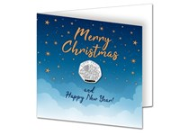 This new Christmas Card displays the 2020 Hark the Herald Angels Sing 50p coin which is encapsulated within the card to protect its superior BU quality.