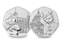 The 2019 Paddington Pair includes both commemorative 50p coins that were issued in 2019.